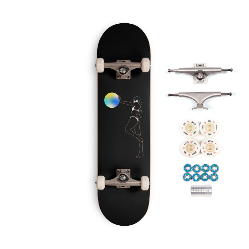 Power Girl Accessories Complete - Premium Skateboard by gelso's Artist Shop