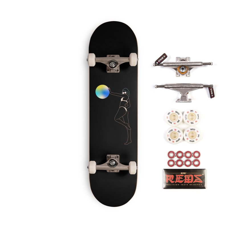 Power Girl Accessories Complete - Pro Skateboard by gelso's Artist Shop
