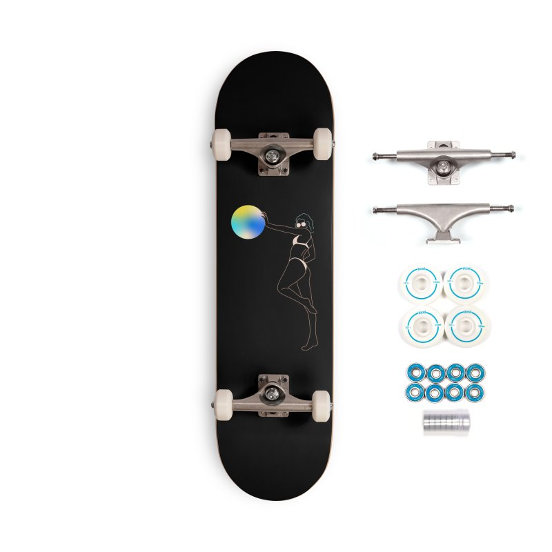 Power Girl Accessories Complete - Basic Skateboard by gelso's Artist Shop