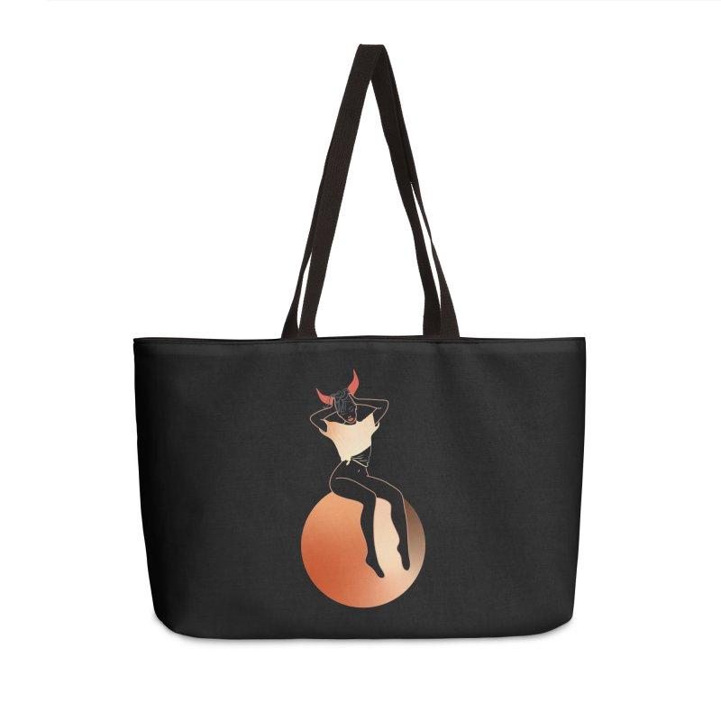 Wicked Girl Accessories Weekender Bag Bag by gelso's Artist Shop