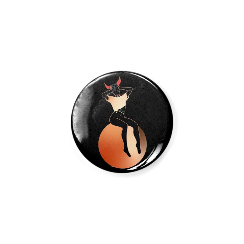 Wicked Girl Accessories Button by gelso's Artist Shop