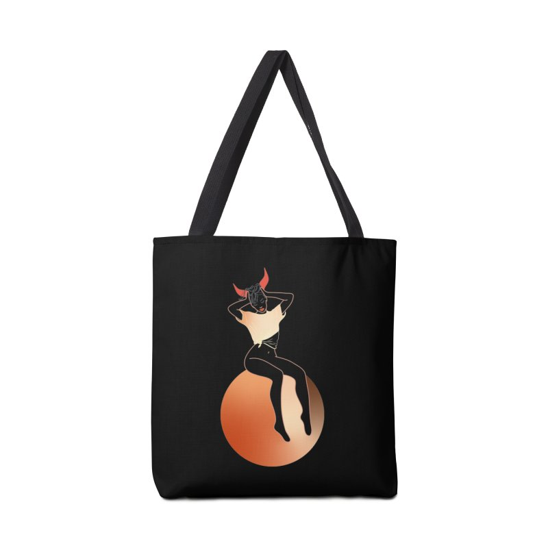 Wicked Girl Accessories Tote Bag Bag by gelso's Artist Shop