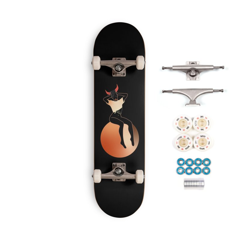 Wicked Girl Accessories Complete - Premium Skateboard by gelso's Artist Shop