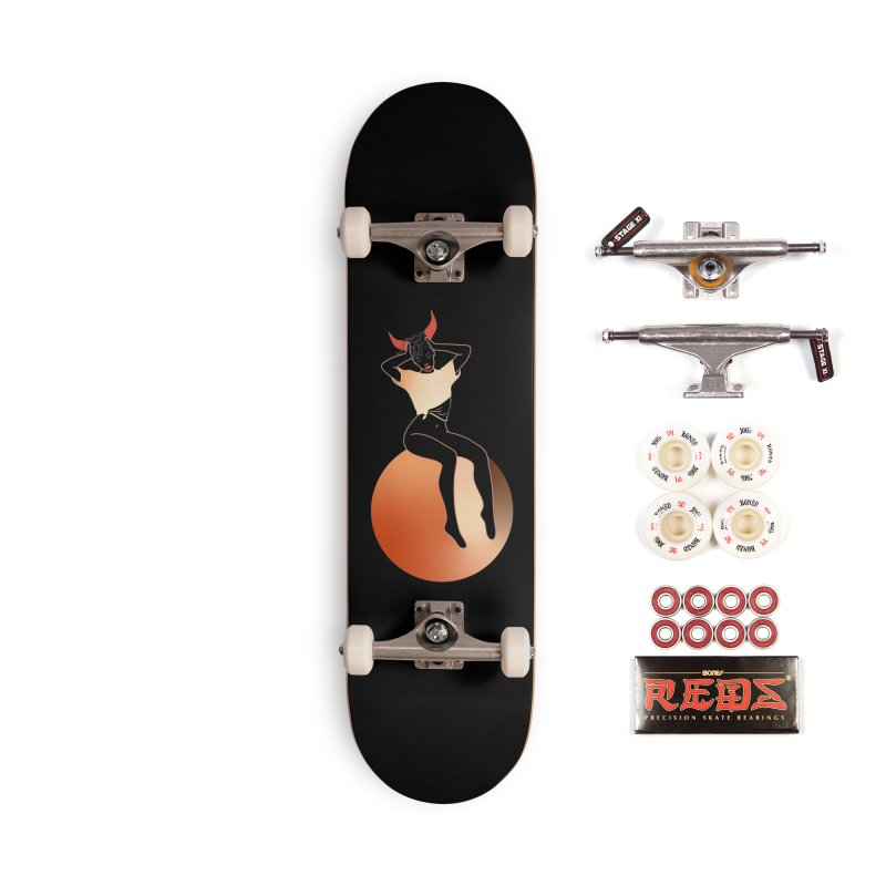 Wicked Girl Accessories Complete - Pro Skateboard by gelso's Artist Shop