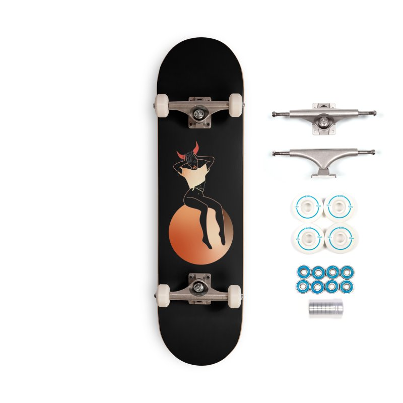 Wicked Girl Accessories Complete - Basic Skateboard by gelso's Artist Shop