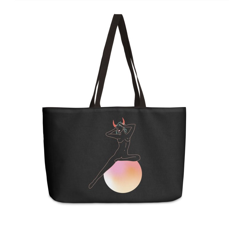 Vicious Girl Accessories Weekender Bag Bag by gelso's Artist Shop
