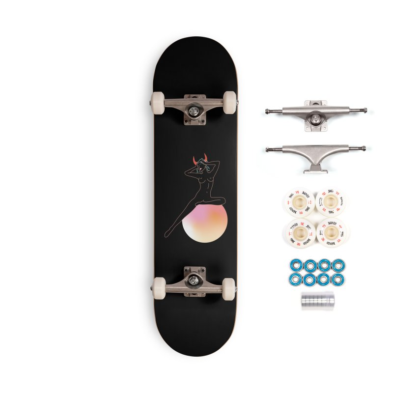Vicious Girl Accessories Complete - Premium Skateboard by gelso's Artist Shop
