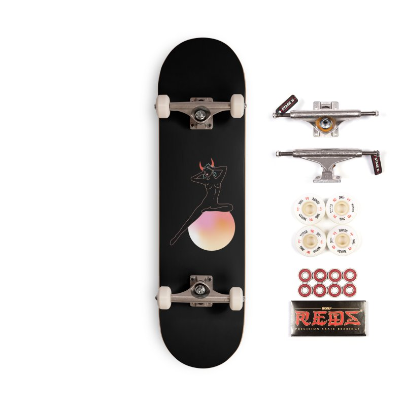Vicious Girl Accessories Complete - Pro Skateboard by gelso's Artist Shop