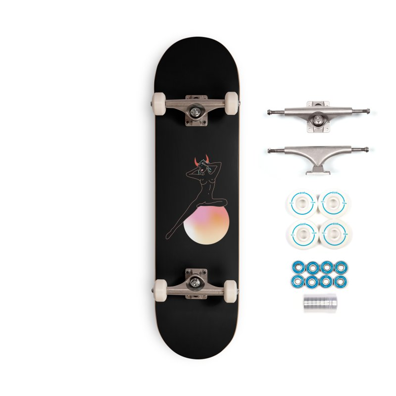 Vicious Girl Accessories Complete - Basic Skateboard by gelso's Artist Shop