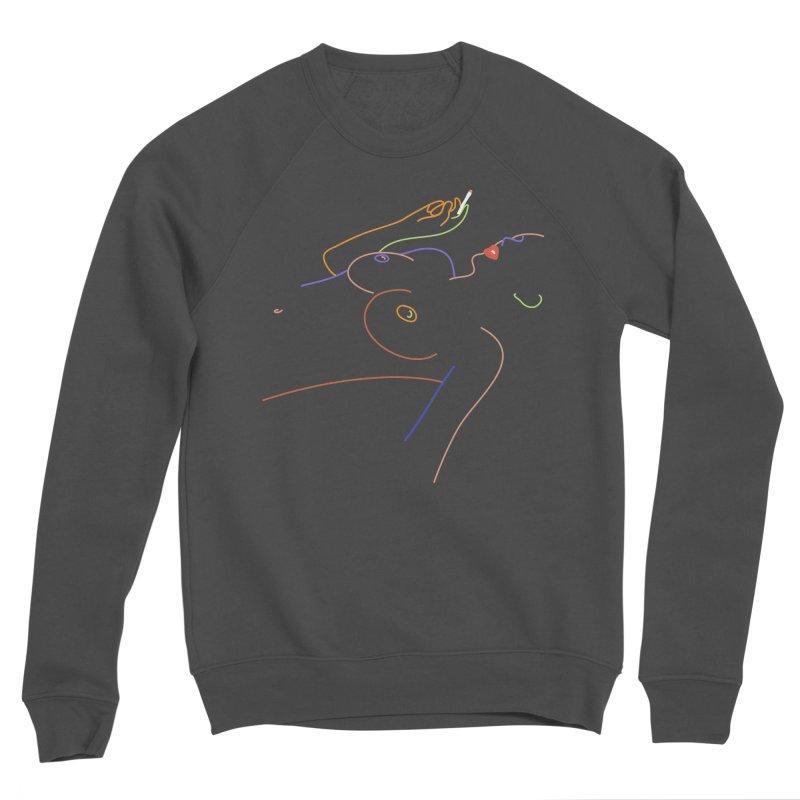 Patient Girl Men's Sponge Fleece Sweatshirt by gelso's Artist Shop