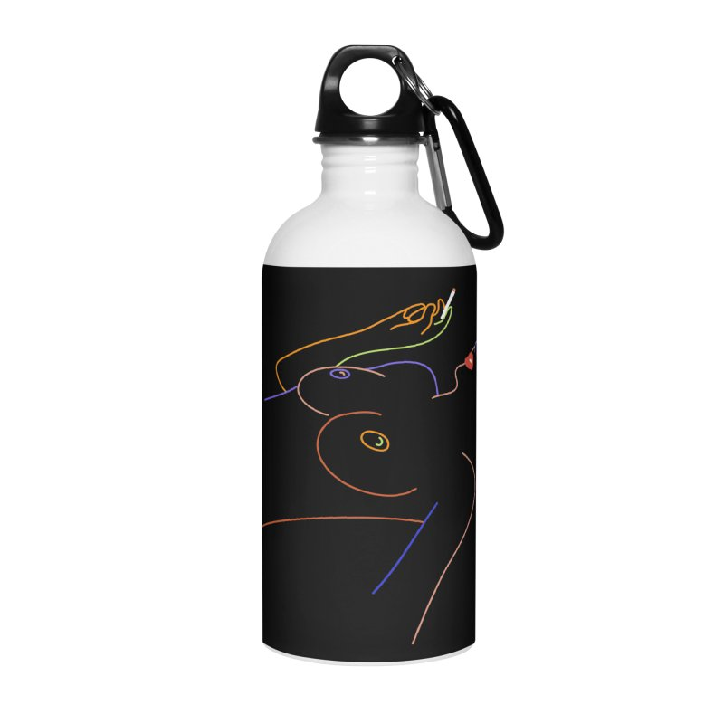 Patient Girl Accessories Water Bottle by gelso's Artist Shop