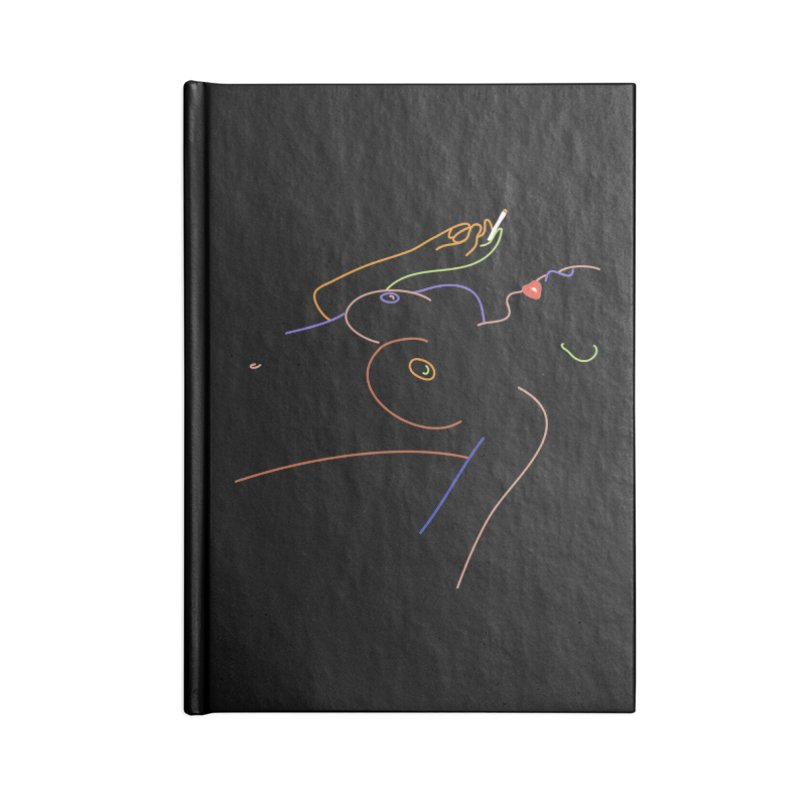 Patient Girl Accessories Lined Journal Notebook by gelso's Artist Shop