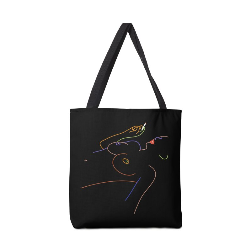 Patient Girl Accessories Tote Bag Bag by gelso's Artist Shop