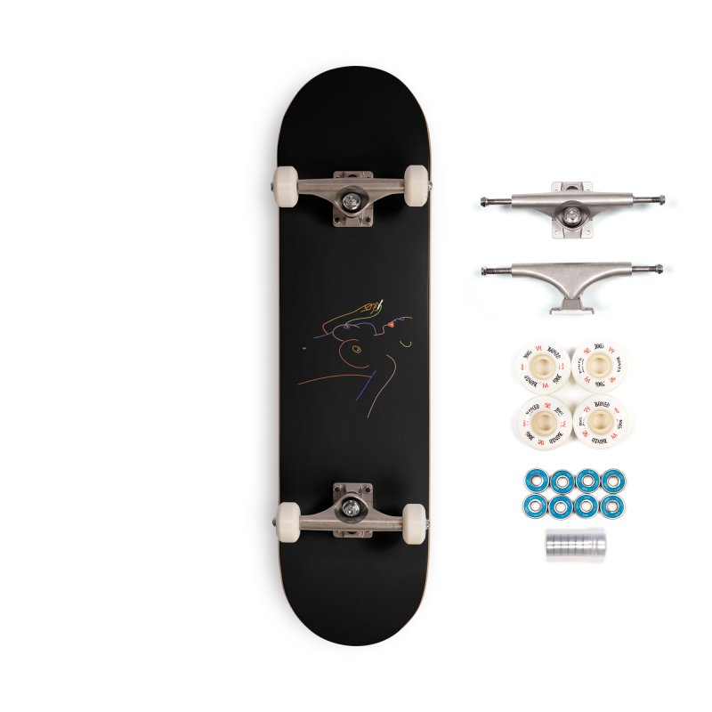 Patient Girl Accessories Complete - Premium Skateboard by gelso's Artist Shop