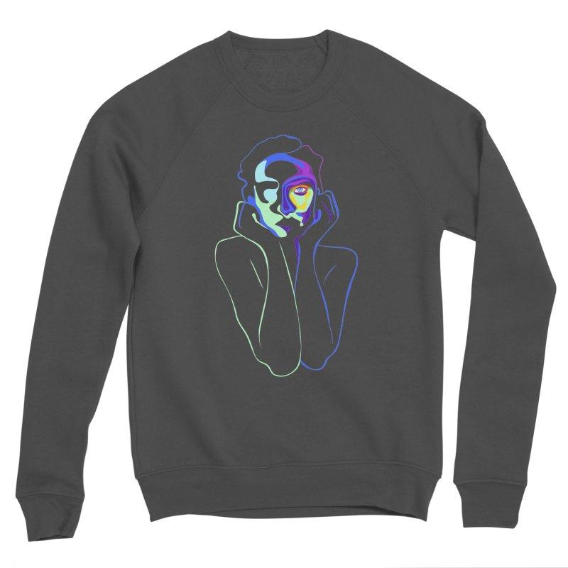 Sea Girl Men's Sponge Fleece Sweatshirt by gelso's Artist Shop