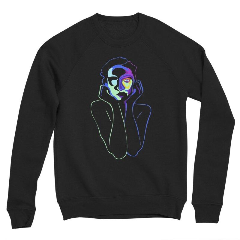 Sea Girl Women's Sponge Fleece Sweatshirt by gelso's Artist Shop