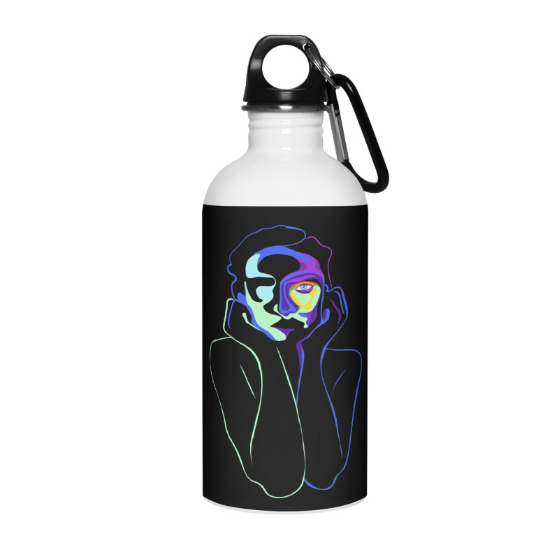 Sea Girl Accessories Water Bottle by gelso's Artist Shop