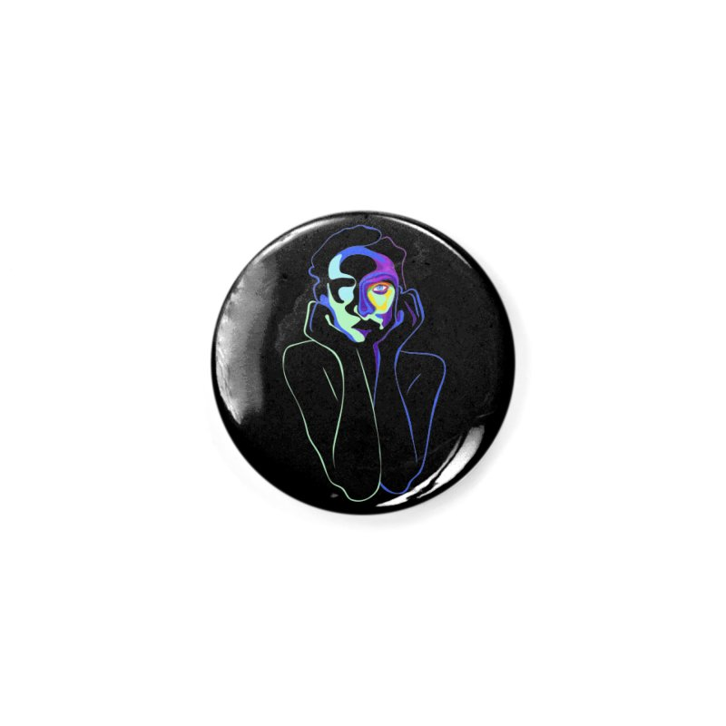 Sea Girl Accessories Button by gelso's Artist Shop