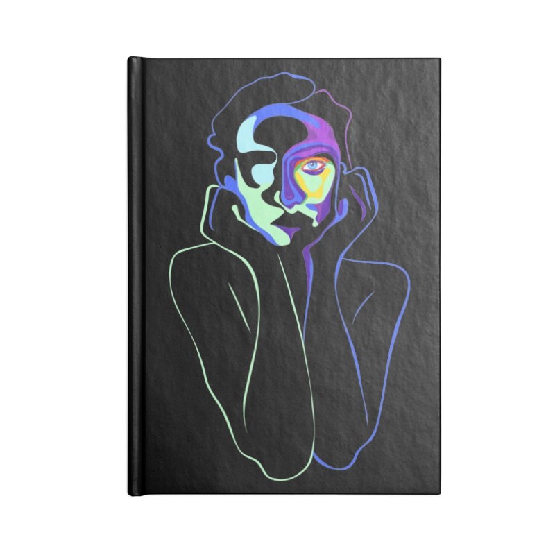 Sea Girl Accessories Blank Journal Notebook by gelso's Artist Shop