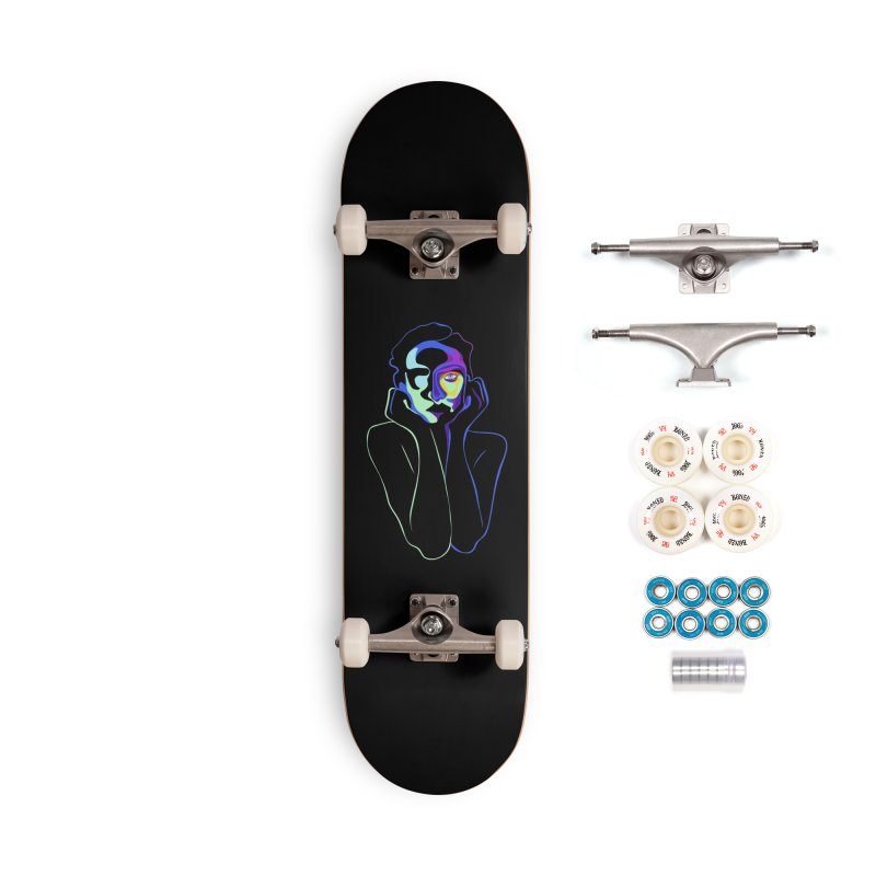 Sea Girl Accessories Complete - Premium Skateboard by gelso's Artist Shop