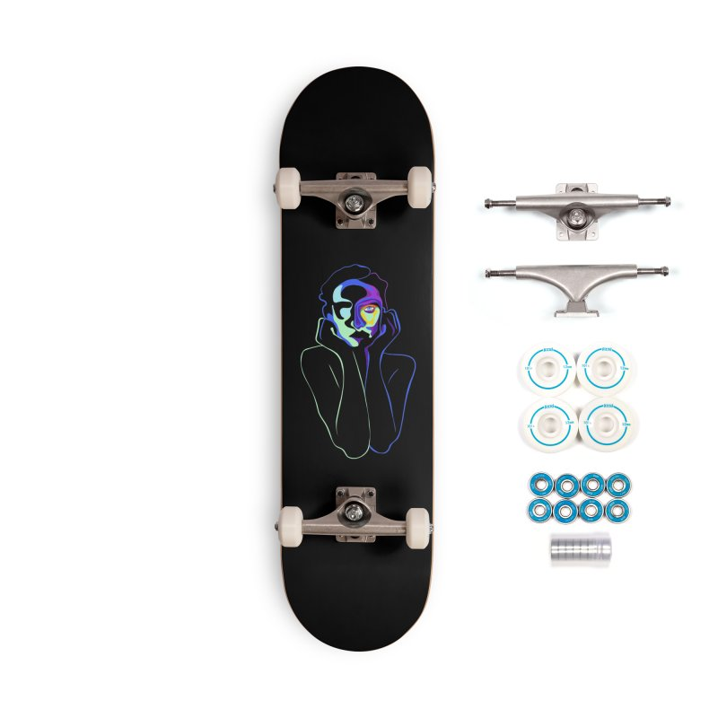 Sea Girl Accessories Complete - Basic Skateboard by gelso's Artist Shop