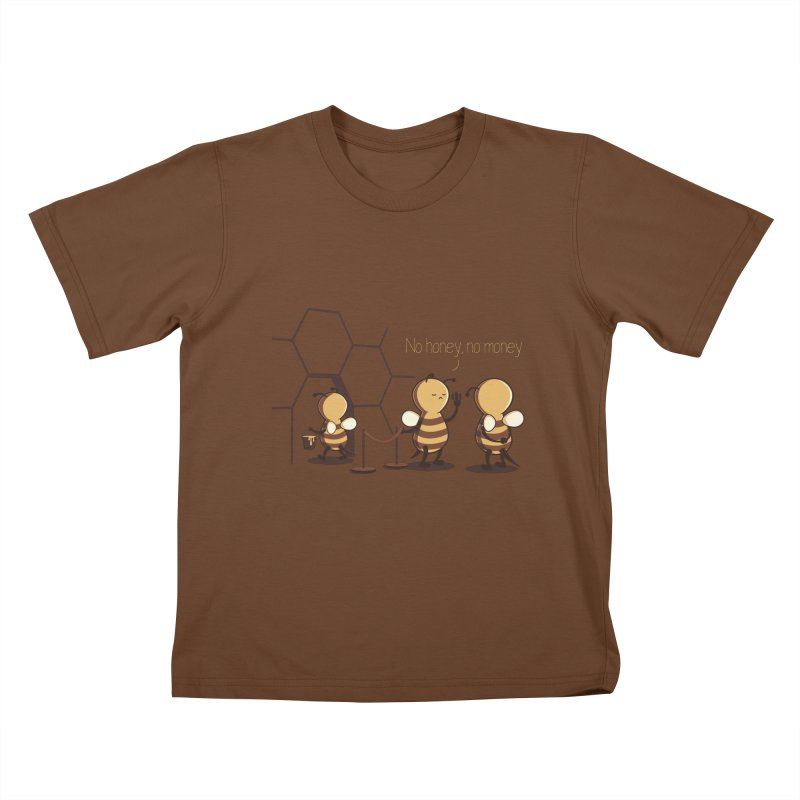 NO HONEY NO MONEY Kids T-Shirt by gen23's Artist Shop