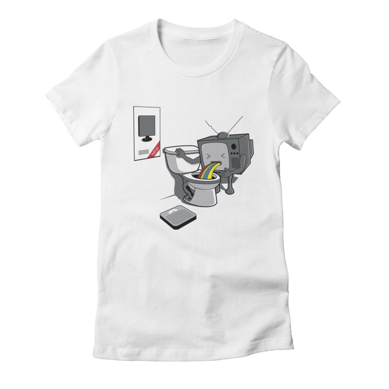 FAT Women's Fitted T-Shirt by gen23's Artist Shop