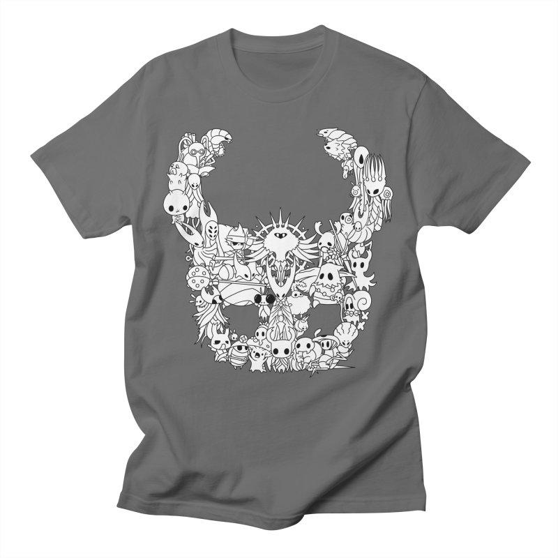 Hollow Knight: Inhabitants of Hollownest Men's T-Shirt by genemutation's Artist Shop