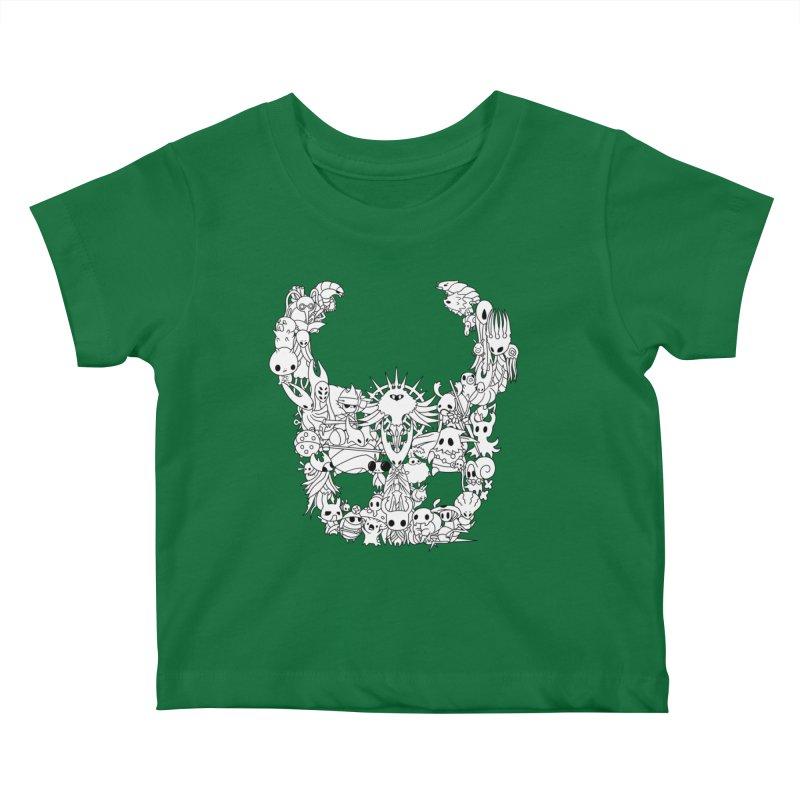 Hollow Knight: Inhabitants of Hollownest Kids Baby T-Shirt by genemutation's Artist Shop