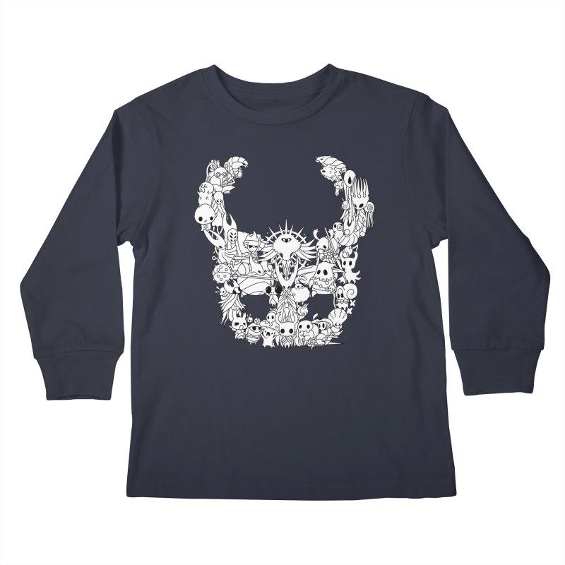 Hollow Knight: Inhabitants of Hollownest Kids Longsleeve T-Shirt by genemutation's Artist Shop