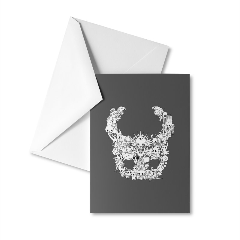 Hollow Knight: Inhabitants of Hollownest Accessories Greeting Card by genemutation's Artist Shop