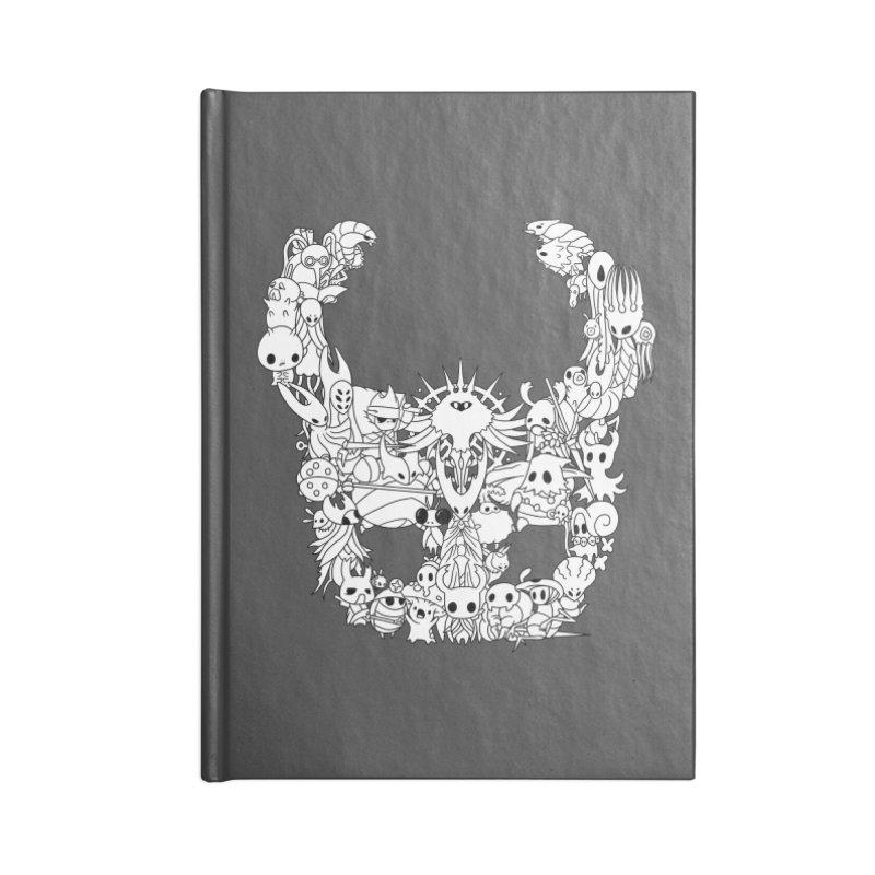 Hollow Knight: Inhabitants of Hollownest Accessories Notebook by genemutation's Artist Shop