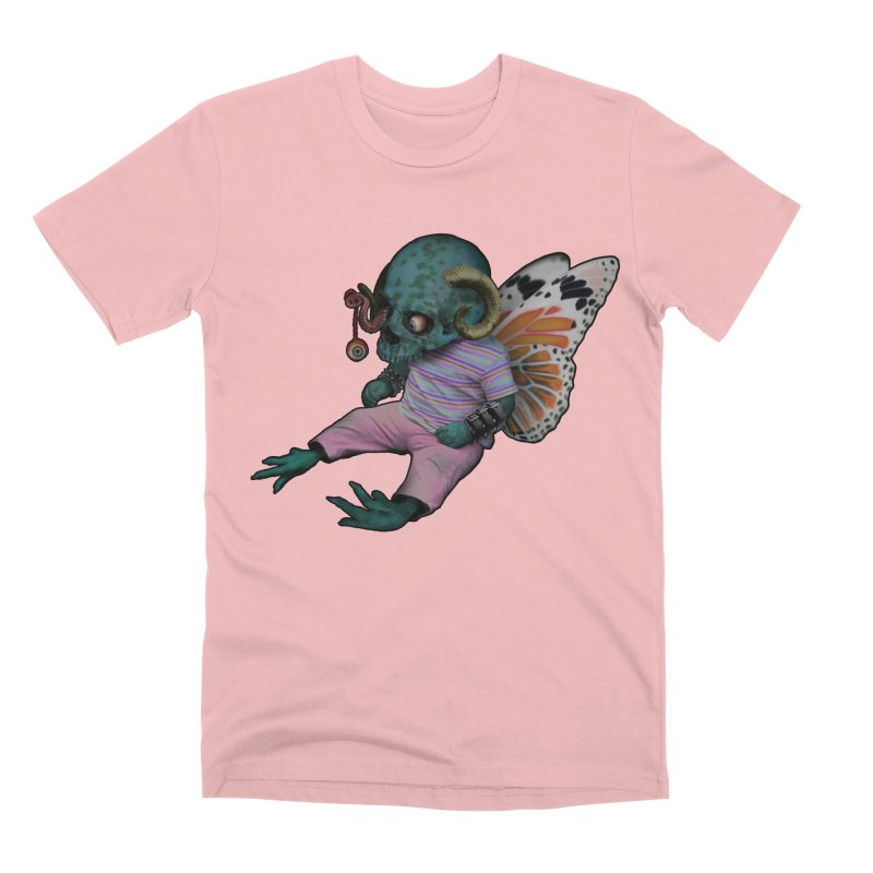 Butterfly Baby Men's Premium T-Shirt by genemutation's Artist Shop