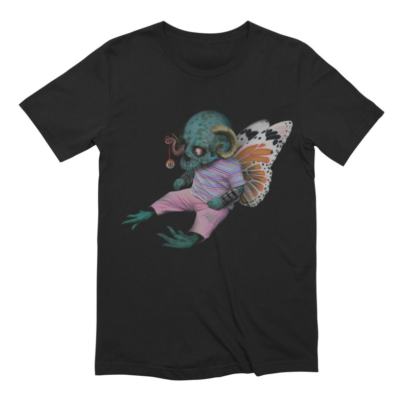 Butterfly Baby Men's Extra Soft T-Shirt by genemutation's Artist Shop