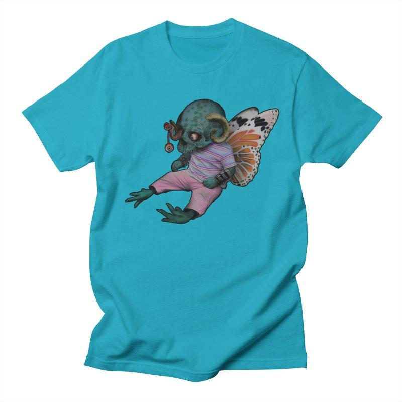 Butterfly Baby Men's Regular T-Shirt by genemutation's Artist Shop