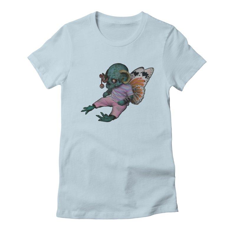 Butterfly Baby Women's T-Shirt by genemutation's Artist Shop
