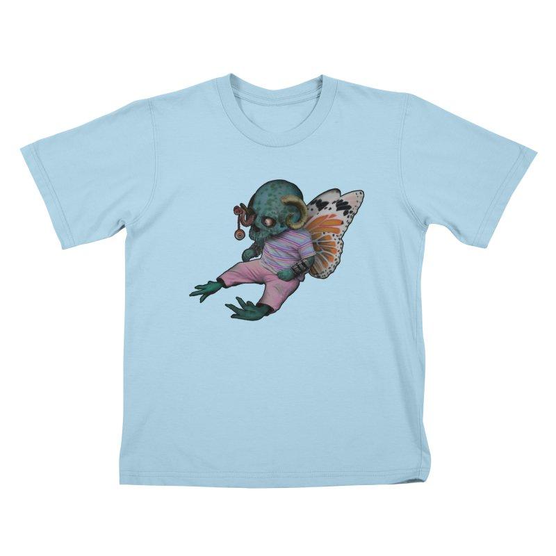 Butterfly Baby Kids T-Shirt by genemutation's Artist Shop