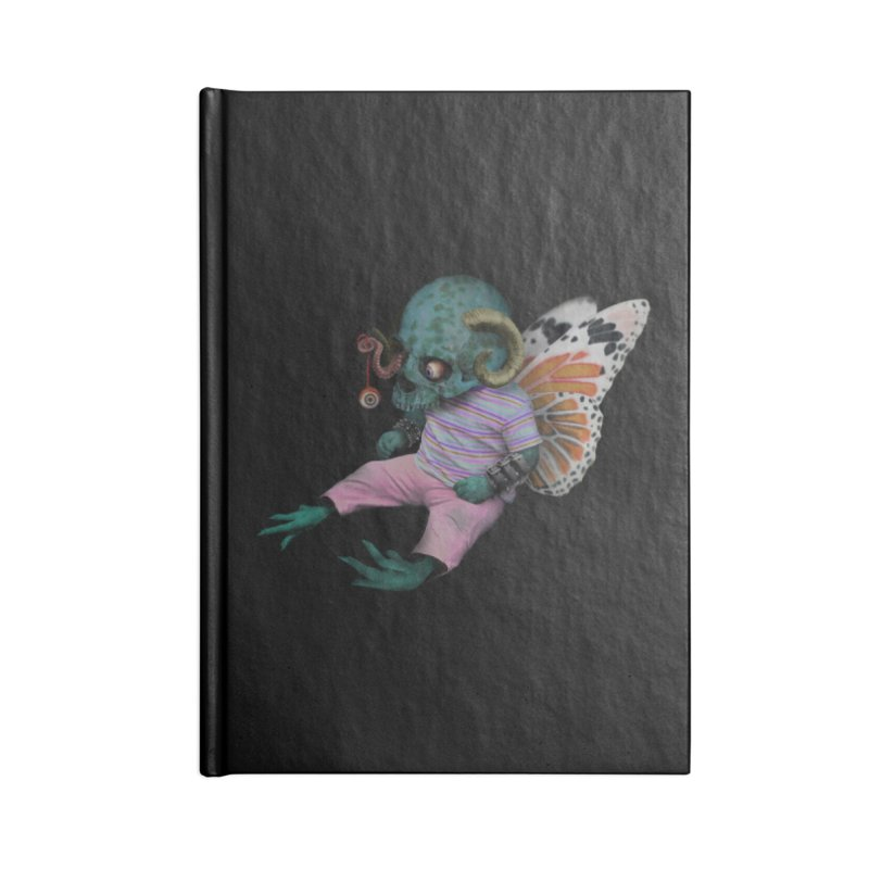 Butterfly Baby Accessories Lined Journal Notebook by genemutation's Artist Shop