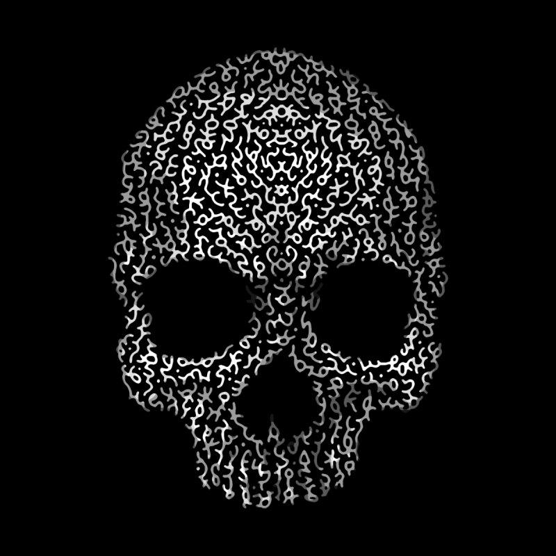 Magick Skull Men's Longsleeve T-Shirt by genemutation's Artist Shop