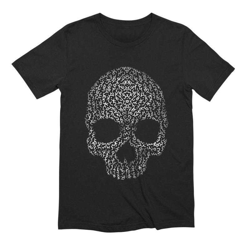 Magick Skull Men's Extra Soft T-Shirt by genemutation's Artist Shop