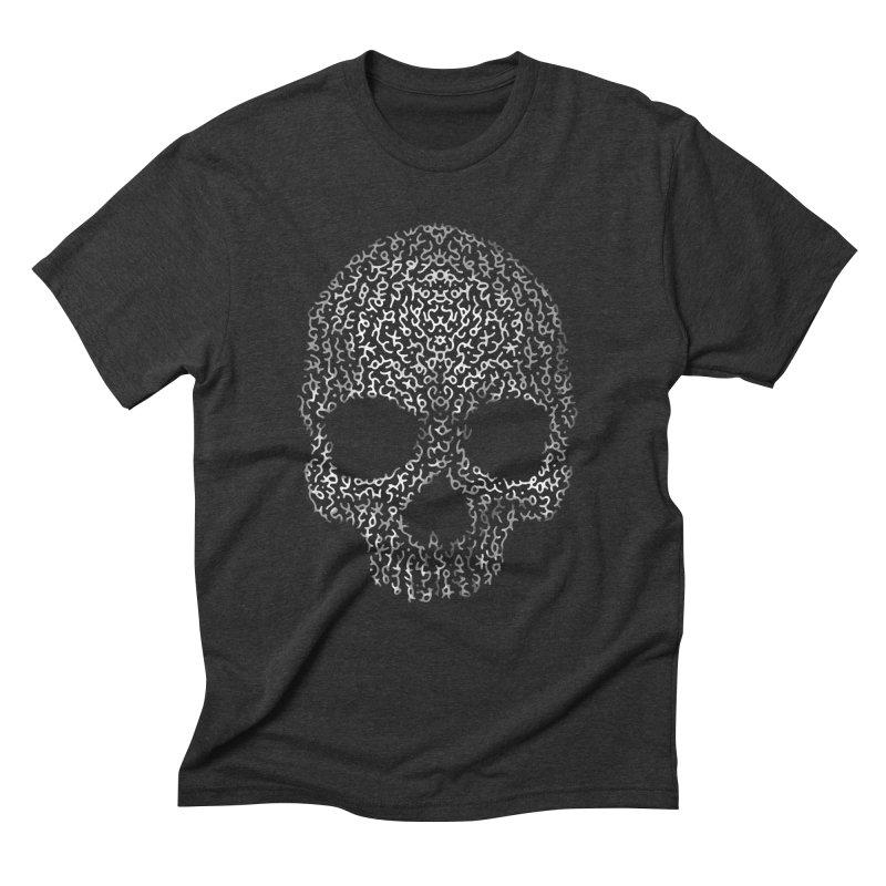 Magick Skull Men's Triblend T-Shirt by genemutation's Artist Shop