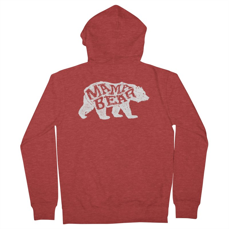 Mama Bear New Mom's Expecting Mother's  Women's Zip-Up Hoody by generalrepublic's Artist Shop