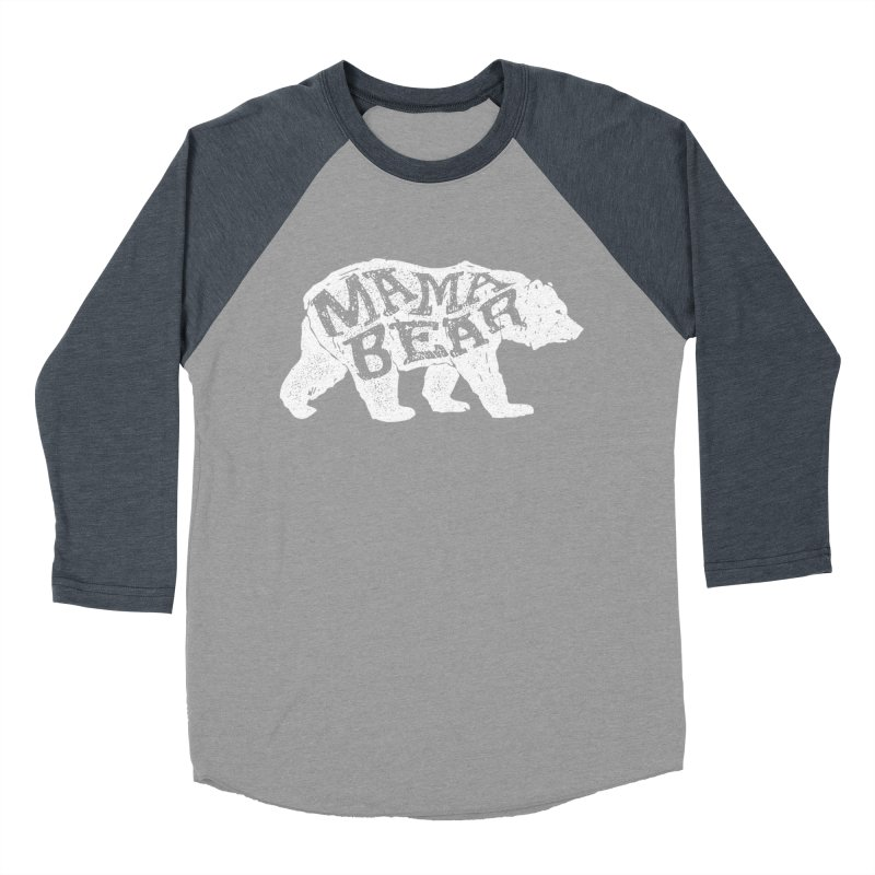Mama Bear New Mom's Expecting Mother's  Women's Baseball Triblend T-Shirt by generalrepublic's Artist Shop