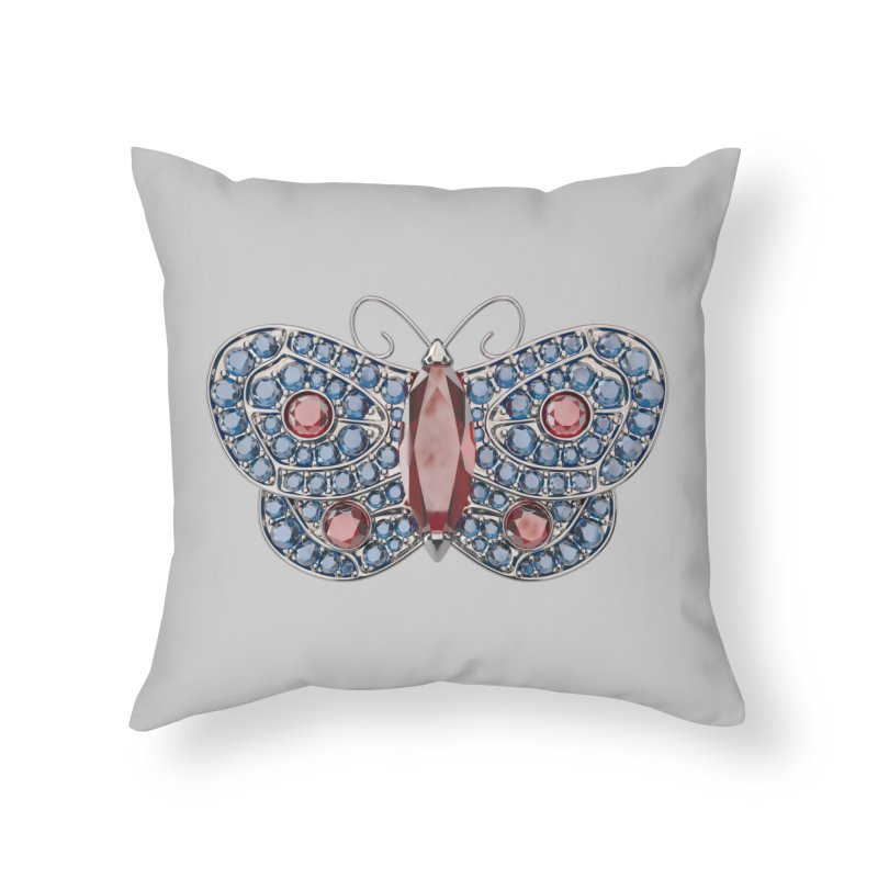 Enchanted Butterfly Home Throw Pillow by Genius Design Lab's Artist Shop