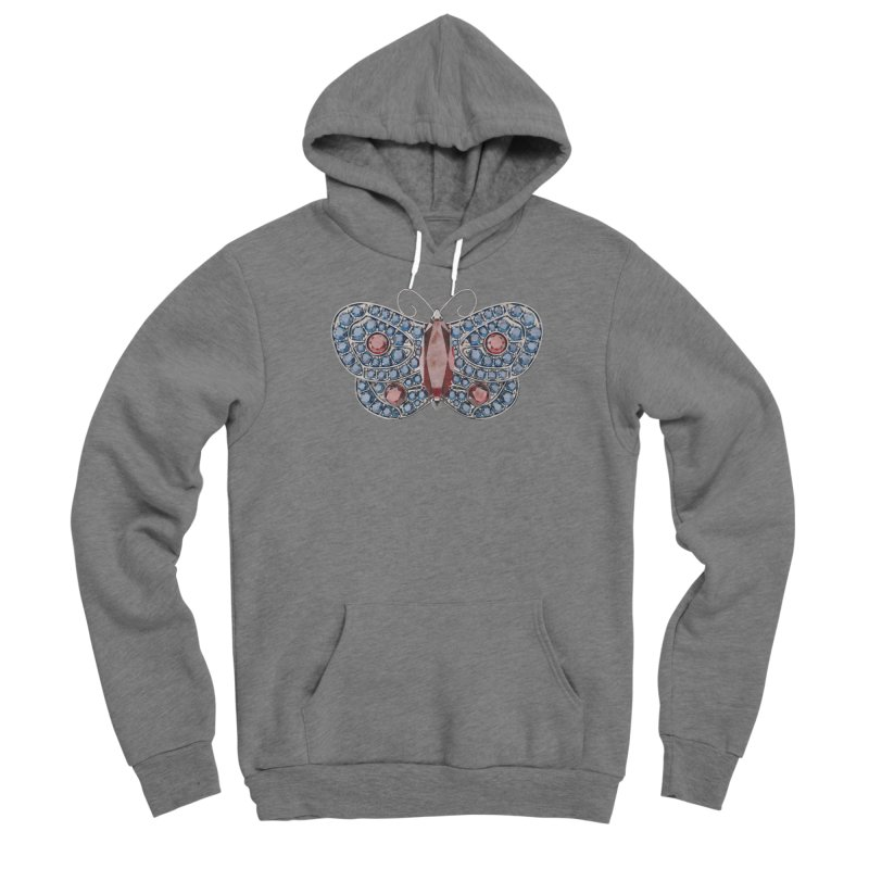 Enchanted Butterfly Men's Sponge Fleece Pullover Hoody by Genius Design Lab's Artist Shop