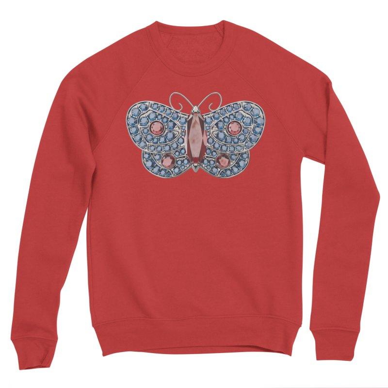 Enchanted Butterfly Men's Sponge Fleece Sweatshirt by Genius Design Lab's Artist Shop