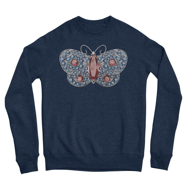 Enchanted Butterfly Men's Sweatshirt by Genius Design Lab's Artist Shop