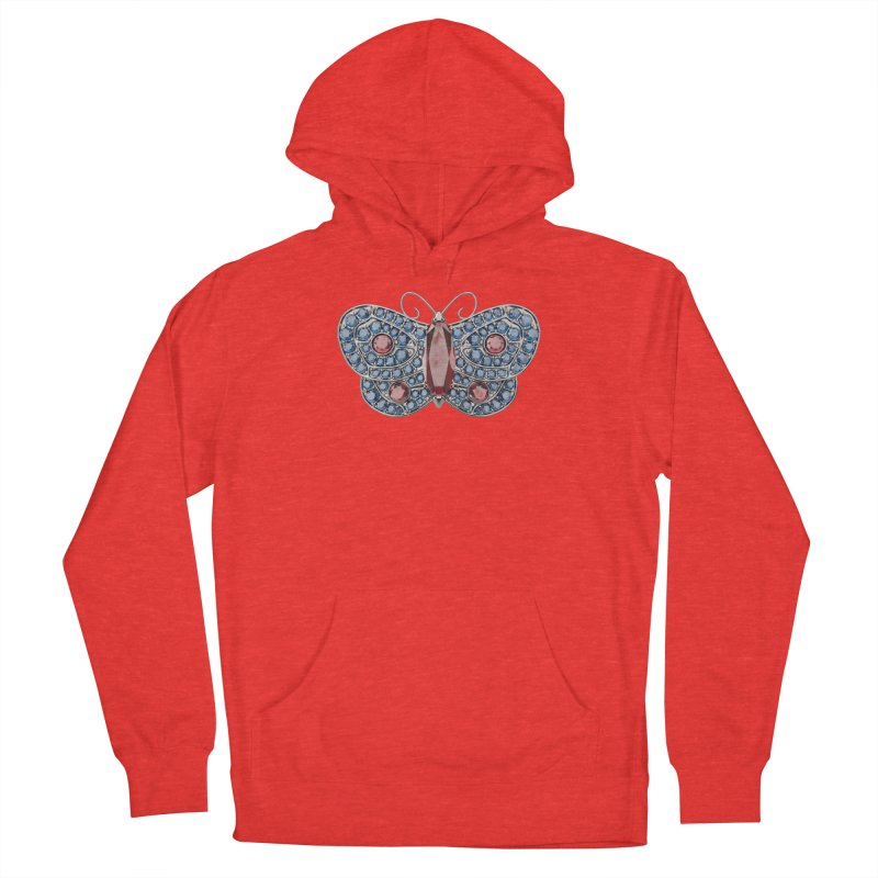 Enchanted Butterfly Men's Pullover Hoody by Genius Design Lab's Artist Shop