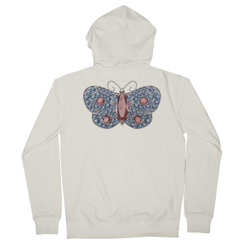 Enchanted Butterfly Women's Zip-Up Hoody by Genius Design Lab's Artist Shop
