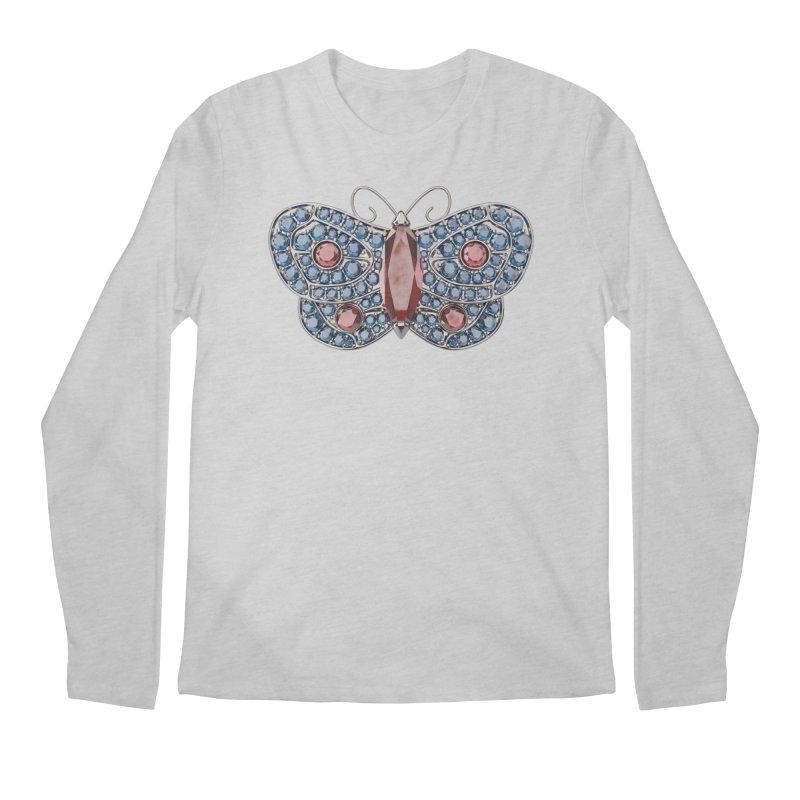 Enchanted Butterfly Men's Longsleeve T-Shirt by Genius Design Lab's Artist Shop